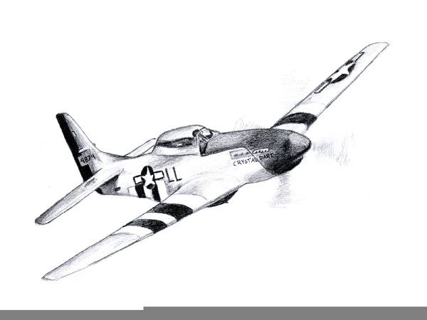 Airplane clipart mustang. P free images at