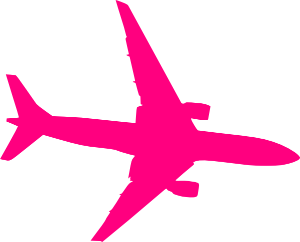 Pink plane clip art. Airplane clipart name