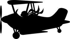 Airplane graphic design pinterest. Biplane clipart front