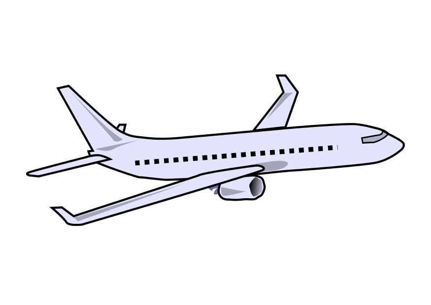 Free Modern Airplane Cliparts, Download Free Clip Art, Free Clip Art on  Clipart Library