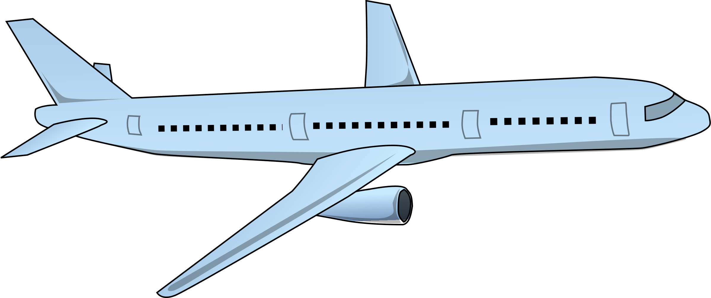 This is a graphic of Airplane Printable intended for banner