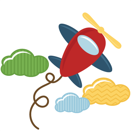 Toy svg file for. Airplane clipart scrapbook