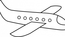 . Airplane clipart simple