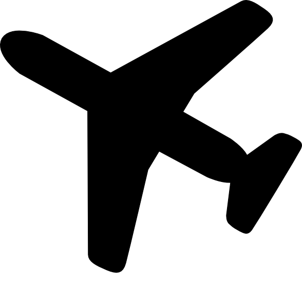 collection of simple. Dot clipart airplane