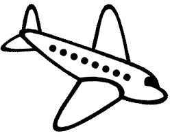 Airplane clipart simple. Drawing free download best