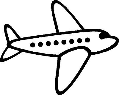 Airplane clipart simple. Clipartfest drawing ideas pinterest