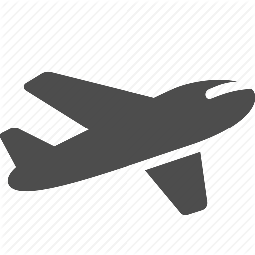 Logistics delivery set by. Airplane icon png