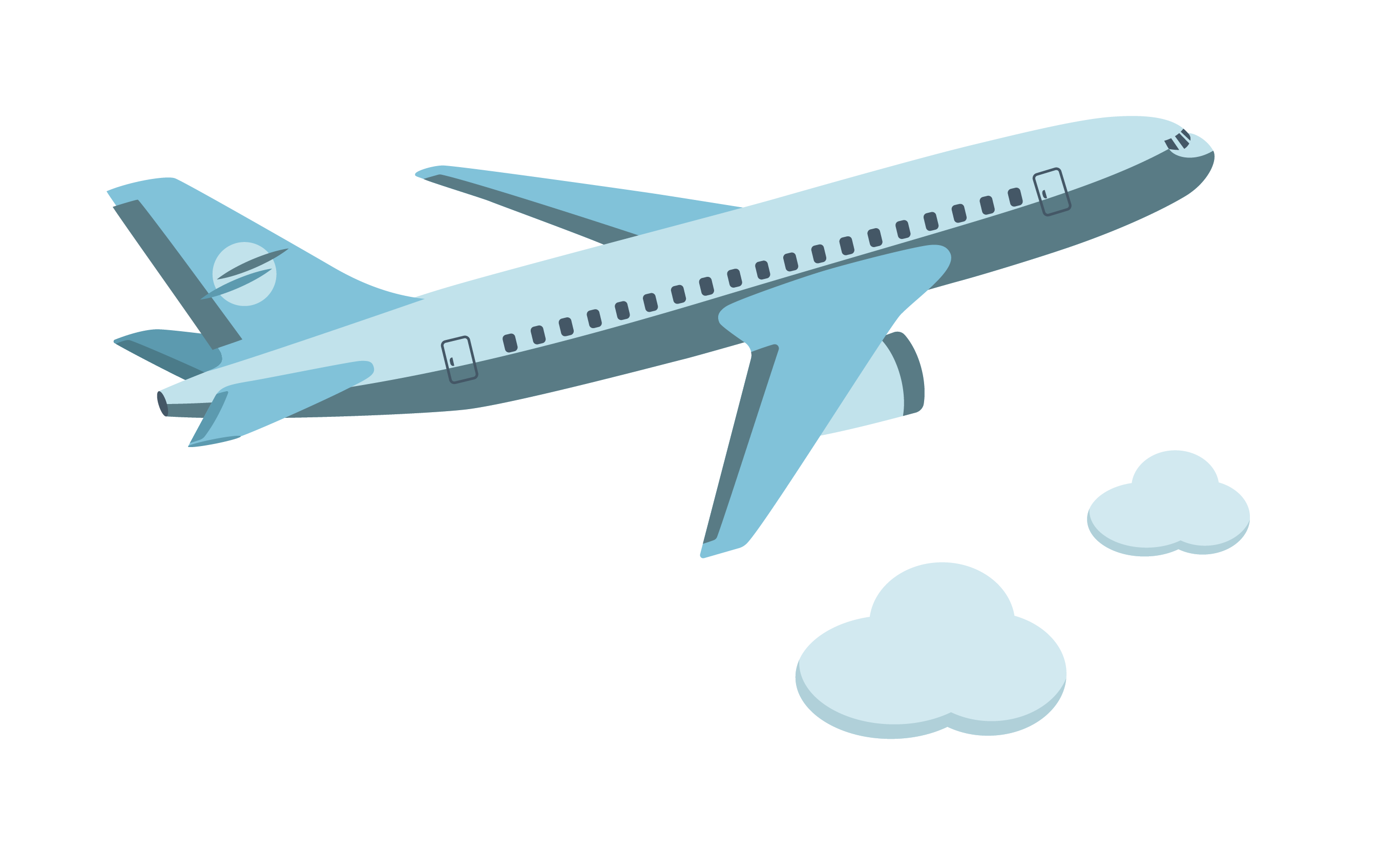 Airplane vector png. Aircraft cartoon icon flying