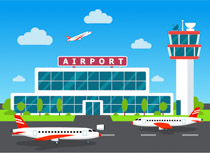 Search results for clip. Airport clipart