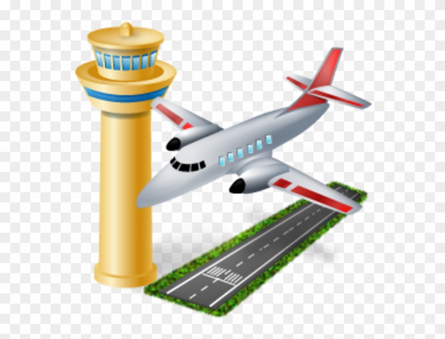 Go through the icon. Airport clipart