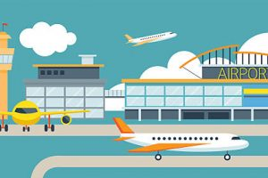 Airport clipart. Goa aviation sector will