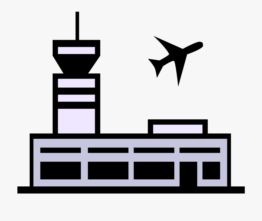 Airport clipart. Cliparts transparent free