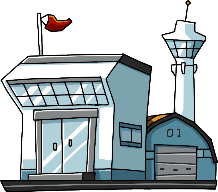 airport clipart aerodrome