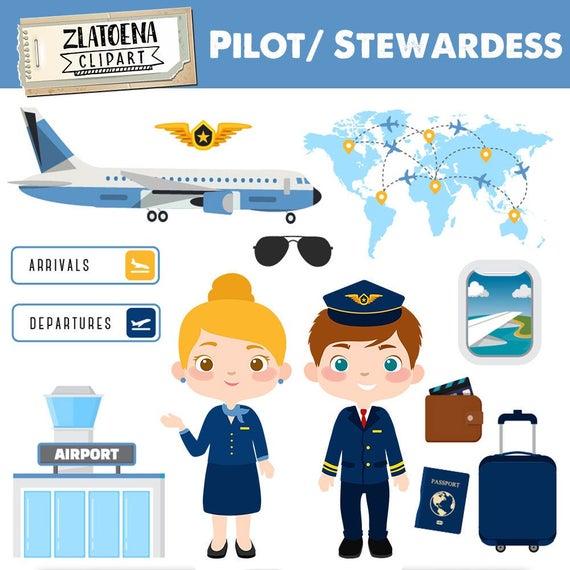 Pilot clip art airplane. Airport clipart aiport