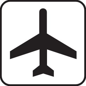 Roadsign clip art at. Airport clipart air port