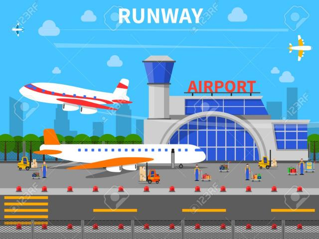 Airport clipart airfield. Free on dumielauxepices net