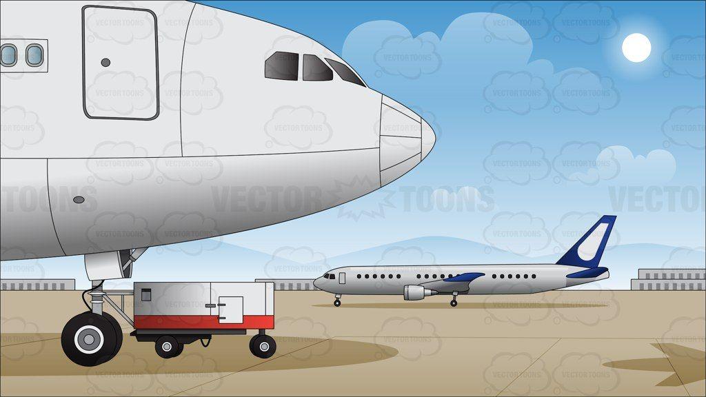 Aeroplane aircraft airplane airport. Jet clipart air transportation