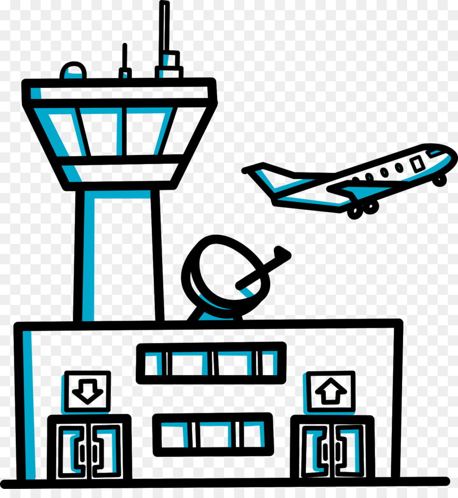 Airport clipart airport building. Videoscribe clip art transprent