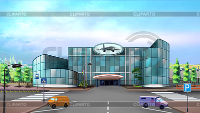 Airport clipart airport building. Stock photos and vektor