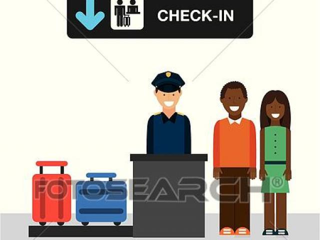 Airport clipart airport check in. Free download clip art