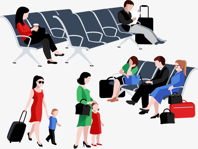 Airport clipart airport passenger. Stock vector lounges material