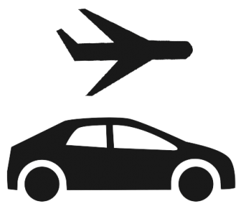 Airport clipart airport pickup. Rental cars and taxi