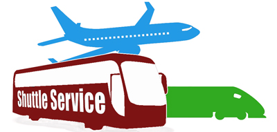 Airport clipart airport pickup. Shuttle bus or tambo