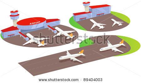 Airport clipart airport terminal. And liner panda free