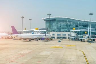 Vectors photos and psd. Airport clipart airport terminal