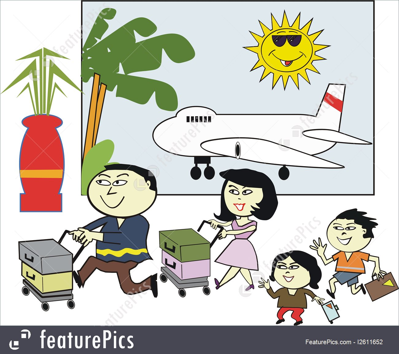 Airport clipart animated. Holiday cartoon pictures group