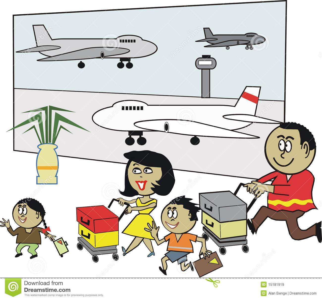 fueling areal cartoon. Airport clipart animated