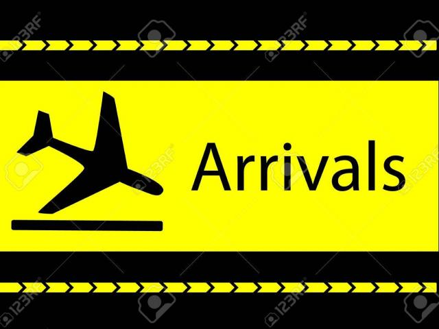 Airport clipart arrived. Free download clip art