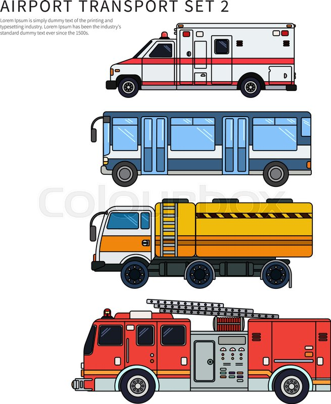 Airport clipart background. Airfield thin line flat