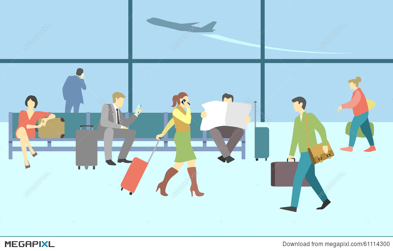 airport clipart background