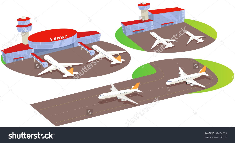 Airport clipart cartoon.  gate terminal