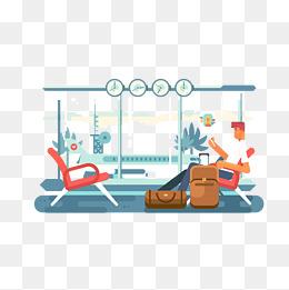 Png vectors psd and. Airport clipart cartoon