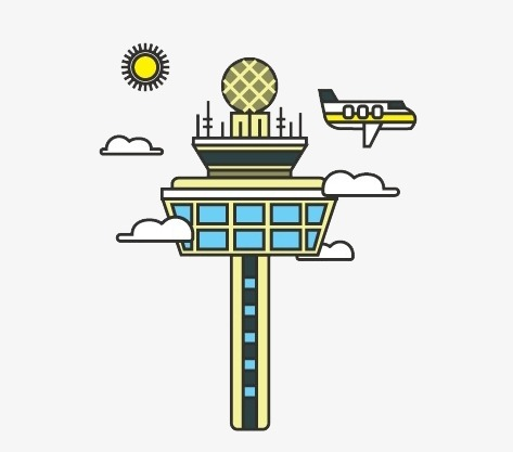 Airport clipart cartoon. Singapore travel attractions changi