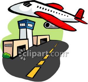 Airport clipart cartoon. Clip art panda free