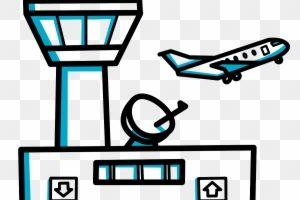 Airport clipart cartoon. Portal