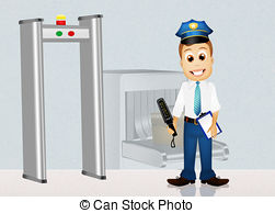 Security panda free images. Airport clipart clip art