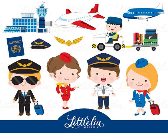 Pilot . Airport clipart clip art