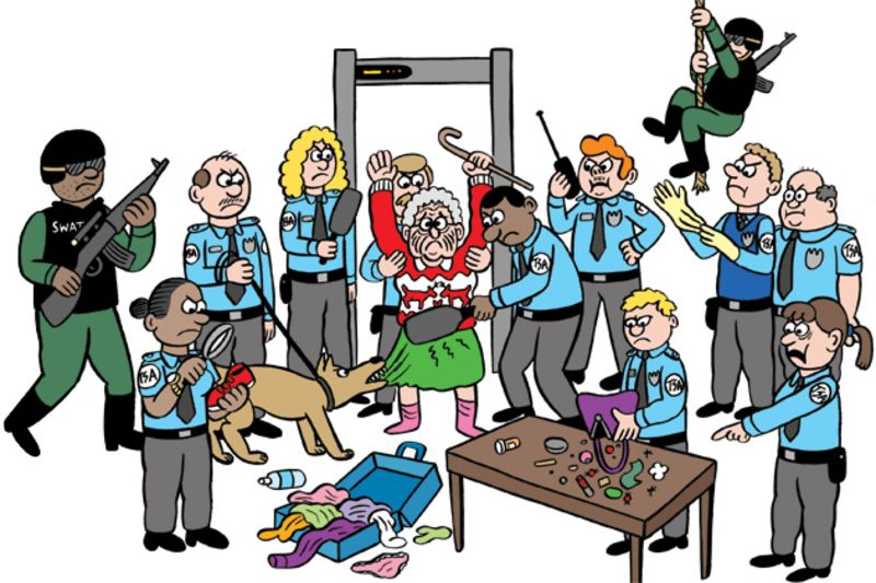Security . Airport clipart couple