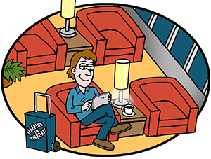 Airport clipart departure lounge. Guide