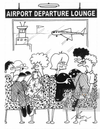 Airport clipart departure lounge. Lounges cartoons and comics