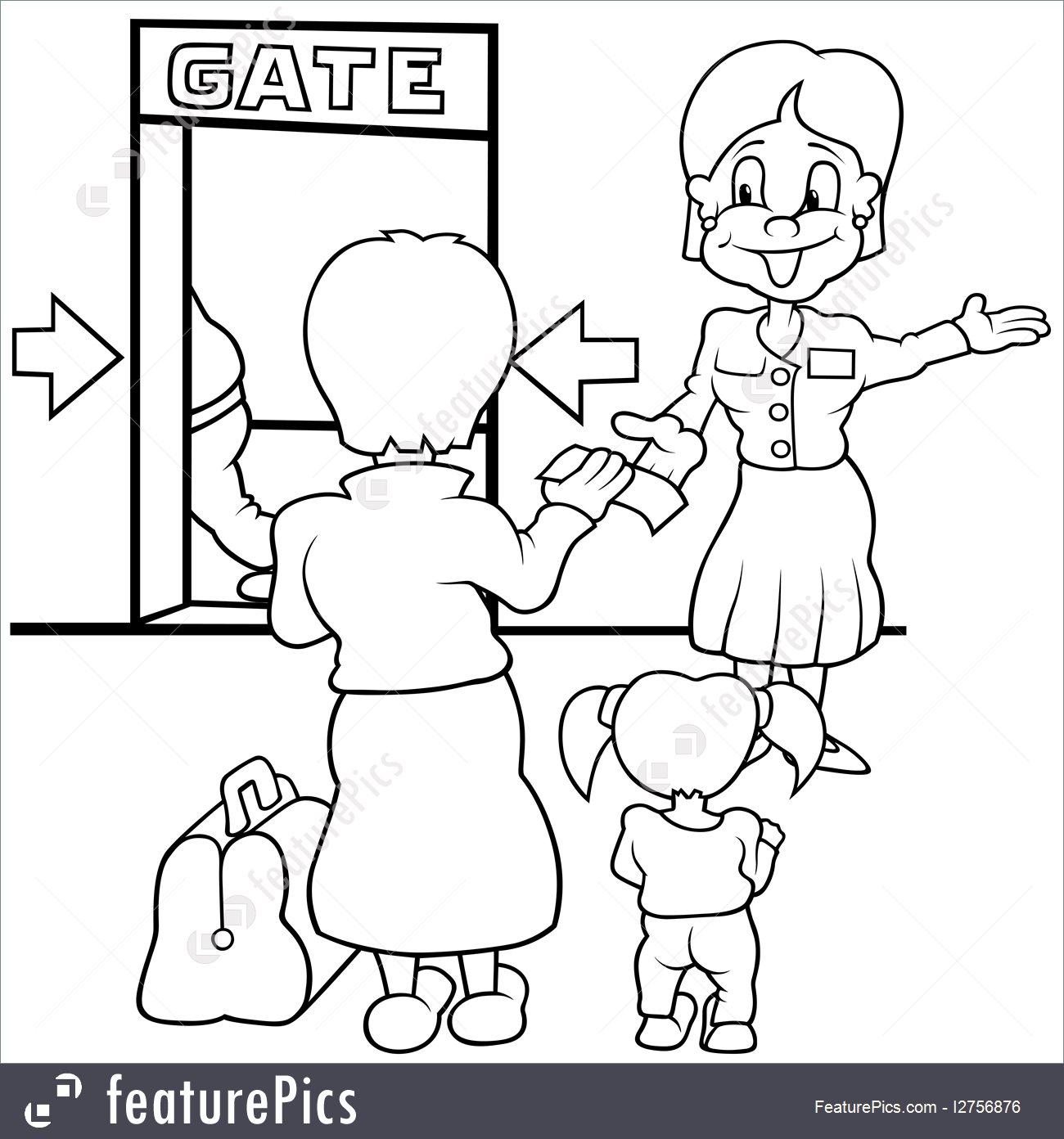 Airport clipart drawing. At getdrawings com free