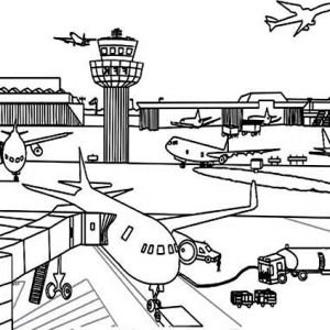 best for the. Airport clipart drawing