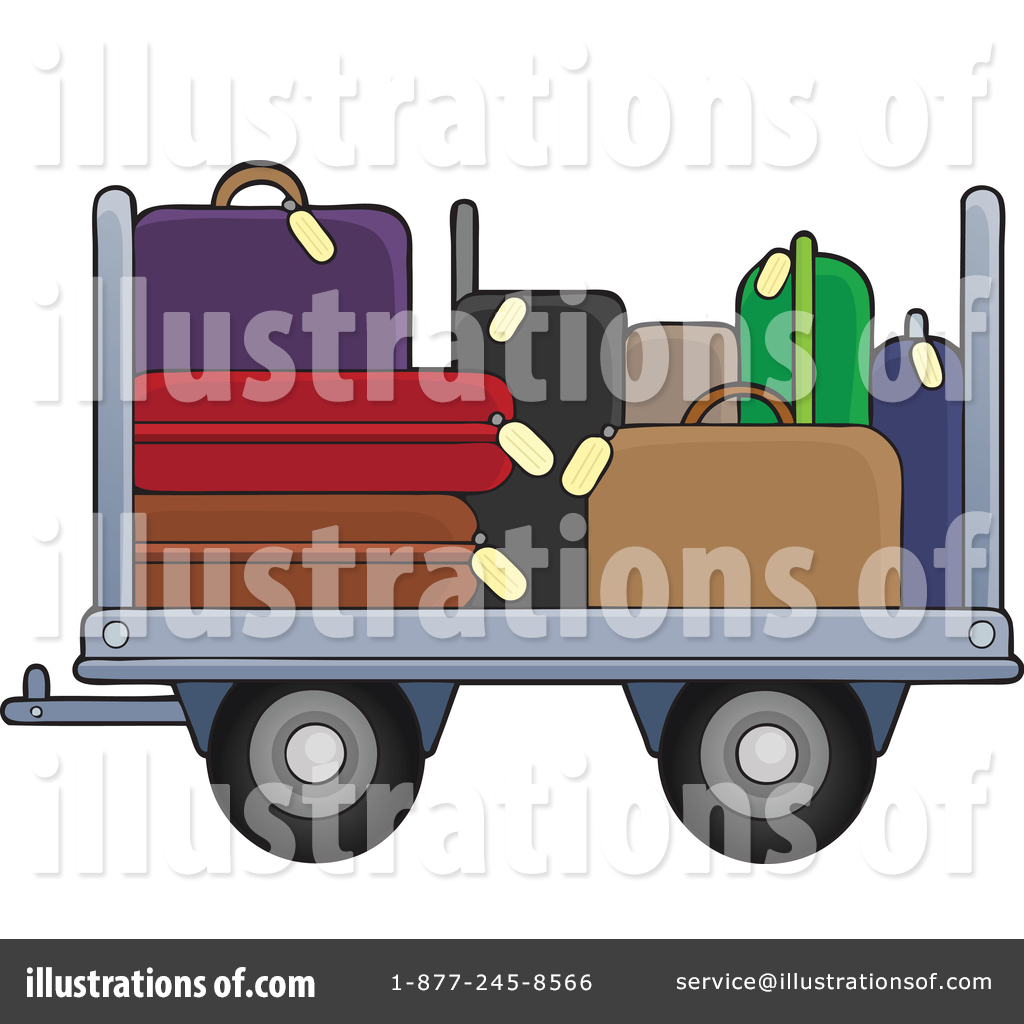 Airport clipart illustration. By visekart