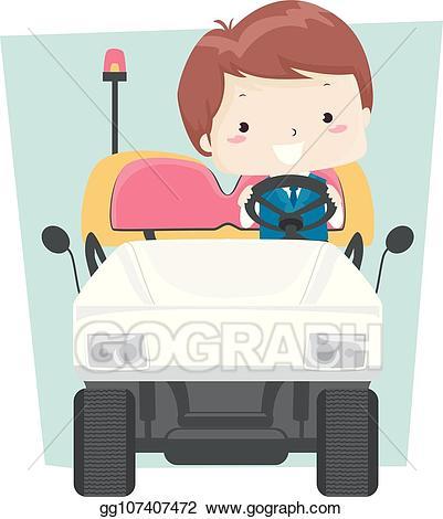 Vector stock kid boy. Airport clipart illustration
