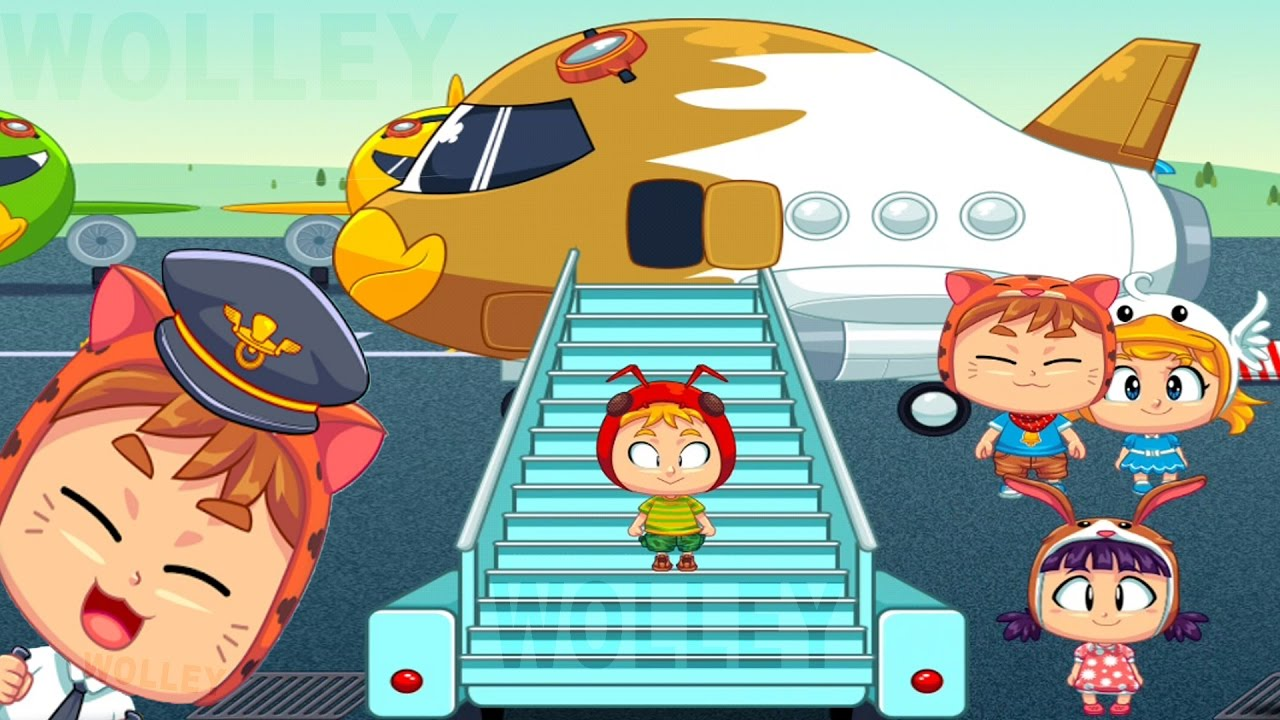Airport clipart kid. Baby adventure kids learn