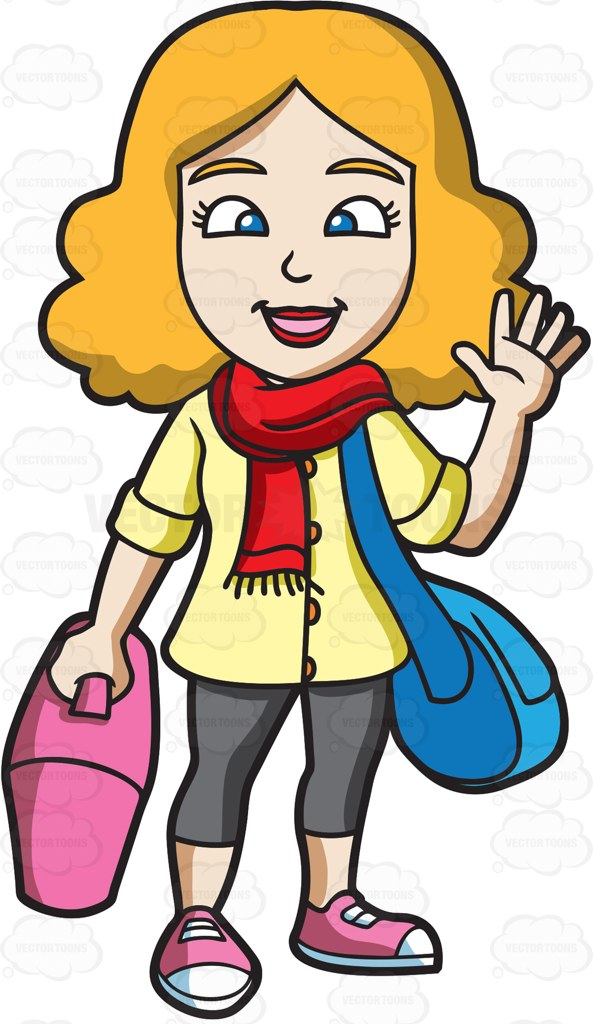 Airport clipart leaving.  collection of girl